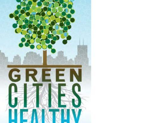 logo for green cities healthy communities webinar